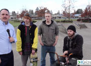 Interview at Keizer Skate park